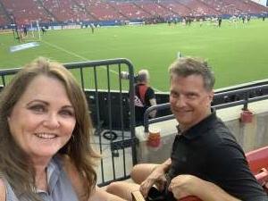 Susan attended FC Dallas vs. New England Revolution - MLS on Jun 27th 2021 via VetTix