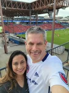 Mark attended FC Dallas vs. New England Revolution - MLS on Jun 27th 2021 via VetTix