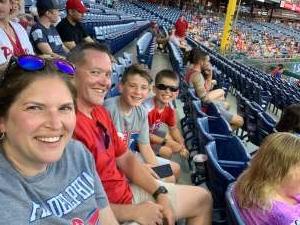 Lance Frost attended Philadelphia Phillies vs. Miami Marlins - MLB on Jun 30th 2021 via VetTix