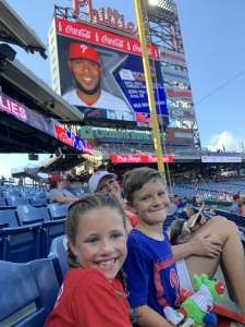 Markhoff36 attended Philadelphia Phillies vs. Miami Marlins - MLB on Jun 30th 2021 via VetTix