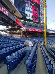 Roy Layden attended Philadelphia Phillies vs. Miami Marlins - MLB on Jun 30th 2021 via VetTix
