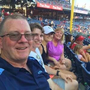 John Welling attended Philadelphia Phillies vs. Miami Marlins - MLB on Jun 30th 2021 via VetTix