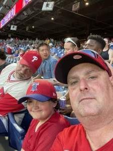 Steven attended Philadelphia Phillies vs. Miami Marlins - MLB on Jun 30th 2021 via VetTix