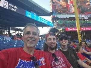 Phillies for Vets attended Philadelphia Phillies vs. Miami Marlins - MLB on Jun 30th 2021 via VetTix
