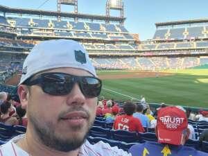 The Amos Family attended Philadelphia Phillies vs. Miami Marlins - MLB on Jun 30th 2021 via VetTix