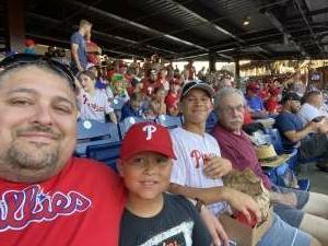 Ken attended Philadelphia Phillies vs. Miami Marlins - MLB on Jun 30th 2021 via VetTix