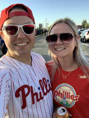 Justin  attended Philadelphia Phillies vs. Miami Marlins - MLB on Jun 30th 2021 via VetTix