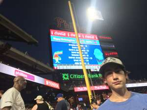 Andrew attended Philadelphia Phillies vs. Miami Marlins - MLB on Jun 30th 2021 via VetTix