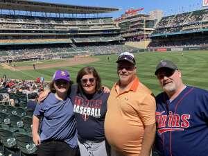 SSG (R) Kruse attended Minnesota Twins vs. Chicago White Sox - MLB on Aug 11th 2021 via VetTix