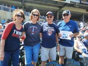 John Hobert attended Minnesota Twins vs. Chicago White Sox - MLB on Aug 11th 2021 via VetTix