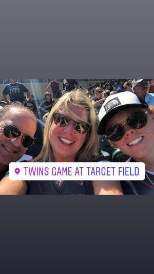 Julie Pettit attended Minnesota Twins vs. Chicago White Sox - MLB on Aug 11th 2021 via VetTix