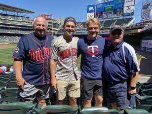 Bob Nelson attended Minnesota Twins vs. Chicago White Sox - MLB on Aug 11th 2021 via VetTix