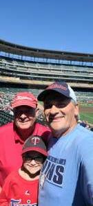 Zed attended Minnesota Twins vs. Chicago White Sox - MLB on Aug 11th 2021 via VetTix