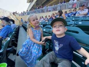 K White attended Minnesota Twins vs. Chicago White Sox - MLB on Aug 11th 2021 via VetTix