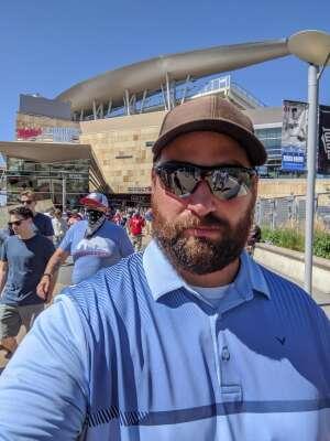 Ben attended Minnesota Twins vs. Chicago White Sox - MLB on Aug 11th 2021 via VetTix