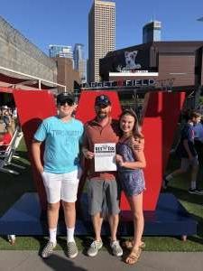 Kevin McCarthy attended Minnesota Twins vs. Tampa Bay Rays - MLB on Aug 14th 2021 via VetTix