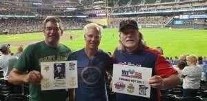 David Nelson attended Minnesota Twins vs. Tampa Bay Rays - MLB on Aug 14th 2021 via VetTix