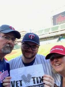 Bill S attended Minnesota Twins vs. Tampa Bay Rays - MLB on Aug 14th 2021 via VetTix