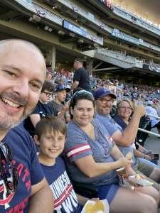 Kevin W. attended Minnesota Twins vs. Tampa Bay Rays - MLB on Aug 14th 2021 via VetTix