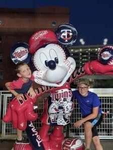 Luke attended Minnesota Twins vs. Tampa Bay Rays - MLB on Aug 14th 2021 via VetTix