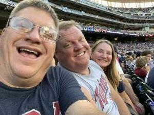 DD attended Minnesota Twins vs. Tampa Bay Rays - MLB on Aug 14th 2021 via VetTix