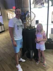 Syph attended Minnesota Twins vs. Tampa Bay Rays - MLB on Aug 14th 2021 via VetTix