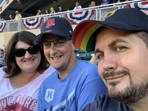 Amy attended Minnesota Twins vs. Tampa Bay Rays - MLB on Aug 14th 2021 via VetTix