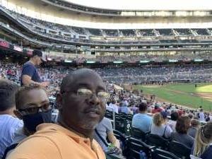 Sutton attended Minnesota Twins vs. Tampa Bay Rays - MLB on Aug 14th 2021 via VetTix