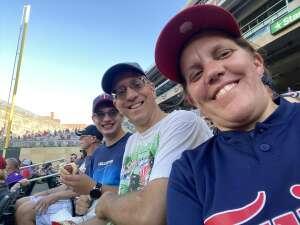 MP attended Minnesota Twins vs. Tampa Bay Rays - MLB on Aug 14th 2021 via VetTix