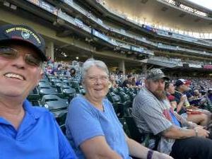 Jim U attended Minnesota Twins vs. Tampa Bay Rays - MLB on Aug 14th 2021 via VetTix