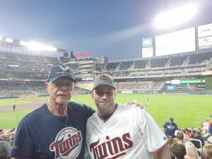 Tom attended Minnesota Twins vs. Tampa Bay Rays - MLB on Aug 14th 2021 via VetTix