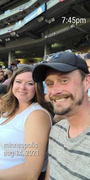 Michael F attended Minnesota Twins vs. Tampa Bay Rays - MLB on Aug 14th 2021 via VetTix