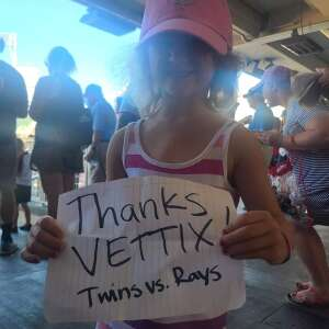 Click To Read More Feedback from Minnesota Twins vs. Tampa Bay Rays - MLB