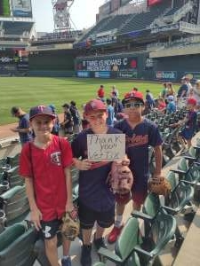 Click To Read More Feedback from Minnesota Twins vs. Cleveland Indians - MLB