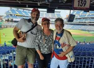 Majik Mike attended Philadelphia Phillies vs. Washington Nationals - MLB on Jul 26th 2021 via VetTix