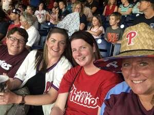 Marlene  attended Philadelphia Phillies vs. Washington Nationals - MLB on Jul 26th 2021 via VetTix