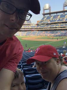 Ryan attended Philadelphia Phillies vs. Washington Nationals - MLB on Jul 26th 2021 via VetTix