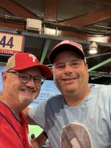Mark Hartmam attended Philadelphia Phillies vs. Washington Nationals - MLB on Jul 26th 2021 via VetTix
