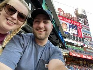 Ryan Conroy attended Philadelphia Phillies vs. Washington Nationals - MLB on Jul 26th 2021 via VetTix