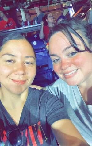 Jennifer  attended Philadelphia Phillies vs. Washington Nationals - MLB on Jul 26th 2021 via VetTix
