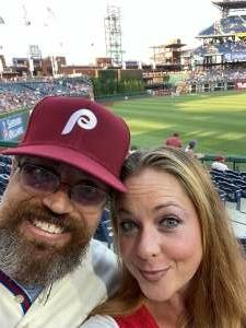 Donald  attended Philadelphia Phillies vs. Washington Nationals - MLB on Jul 26th 2021 via VetTix