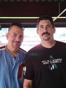 Scott  attended Philadelphia Phillies vs. Washington Nationals - MLB on Jul 26th 2021 via VetTix