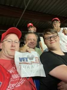 Tristan Stull attended Philadelphia Phillies vs. Washington Nationals - MLB on Jul 26th 2021 via VetTix