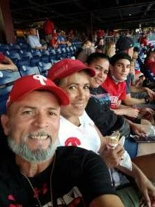 Willy attended Philadelphia Phillies vs. Washington Nationals - MLB on Jul 26th 2021 via VetTix