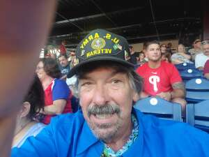 D.L.M attended Philadelphia Phillies vs. Washington Nationals - MLB on Jul 26th 2021 via VetTix