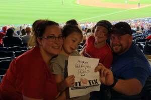 S.D.  attended Philadelphia Phillies vs. Washington Nationals - MLB on Jul 26th 2021 via VetTix