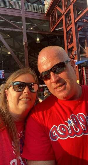 Dennis Flynn attended Philadelphia Phillies vs. Washington Nationals - MLB on Jul 26th 2021 via VetTix