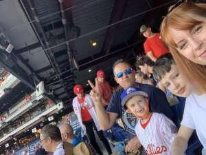 Jason M attended Philadelphia Phillies vs. Washington Nationals - MLB on Jul 26th 2021 via VetTix