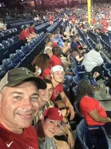Jerry attended Philadelphia Phillies vs. Washington Nationals - MLB on Jul 26th 2021 via VetTix