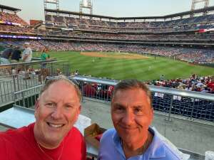 Tony attended Philadelphia Phillies vs. Washington Nationals - MLB on Jul 26th 2021 via VetTix